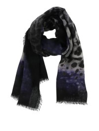 Wool scarf with prints by Salvatore Ferragamo - scarves ...