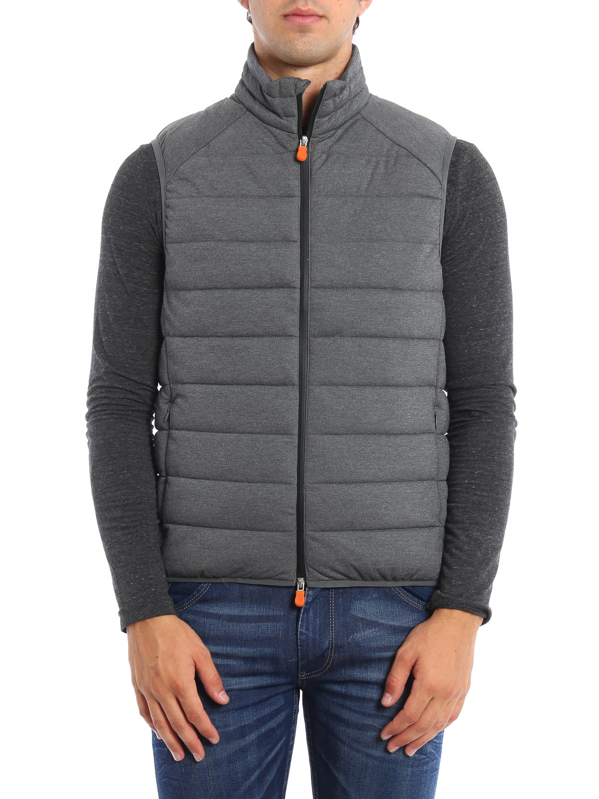 Quilted and padded vest by Save the Duck