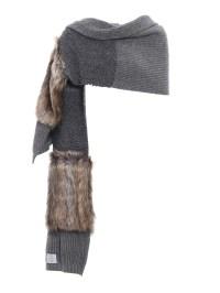 Fur Free Fur virgin wool scarf by Stella Mccartney ...
