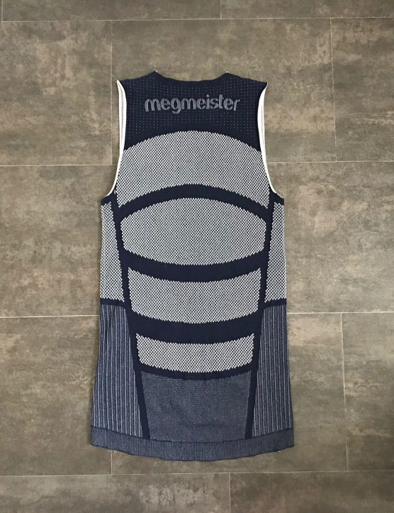 Megmeister DRYNAMO Cycle Sleeveless Baselayer rear