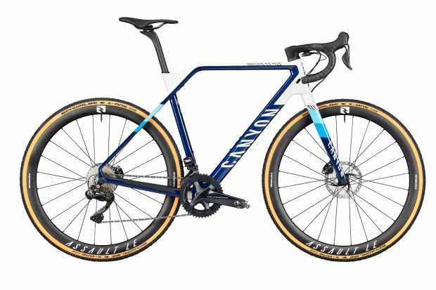 2021 canyon inflite cyclocross bike
