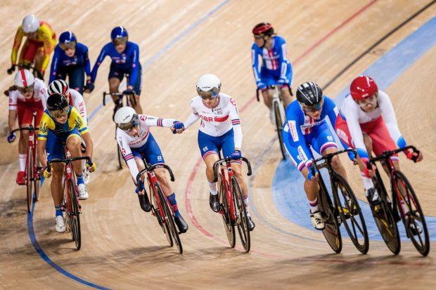 2020 UEC Bahn-Europameisterschaften Damen Madison
