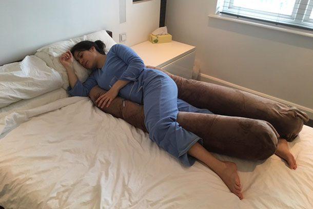original u shaped pregnancy pillow