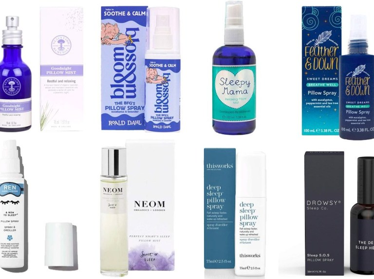 the best pillow and sleep sprays for