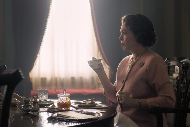 Olivia Colman as Queen Elizabeth II. In the Crown Series 3 (Netflix)