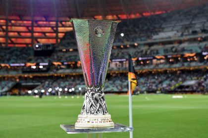 Image result for europa league trophy 2020