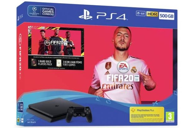 PS4 with FIFA 20 Bundle