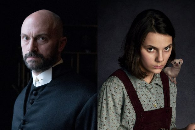 Will Keen and Dafne Keen in his dark materials (BBC)