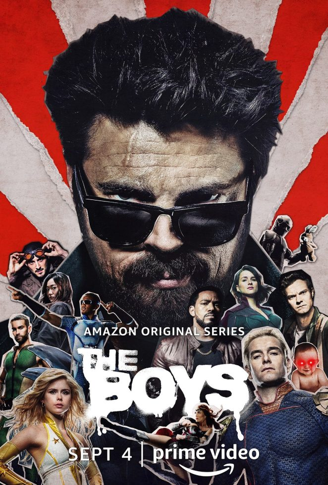 Karl Urban plays Billy Butcher in The Boys season two (character poster)
