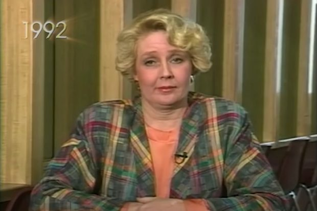 Betty Broderick being interviewed by Oprah Winfrey in 1992