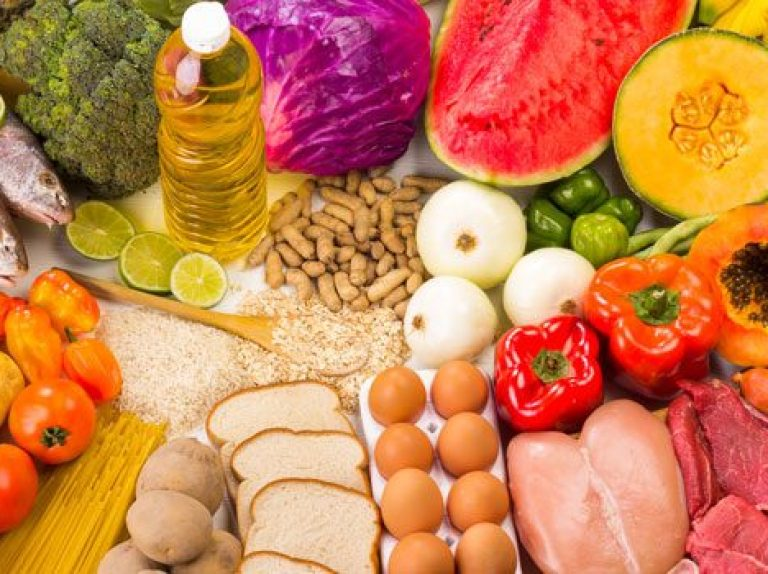Ways of eating a balanced diet