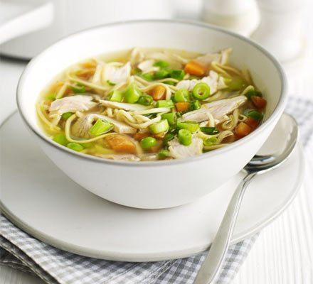 Turkey Noodle Soup Recipe Bbc Good Food