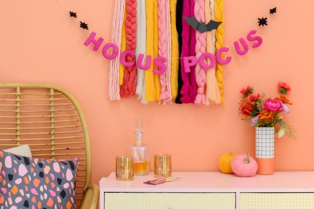 27 Diy Halloween Decorations Ideas To Make At Home Gathered