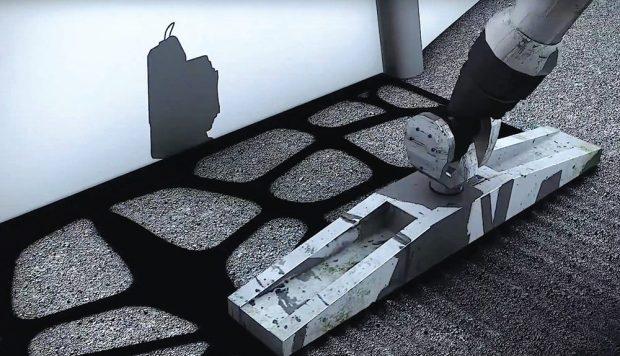 Стены можно напечатать на 3D-принтере из лунного грунта