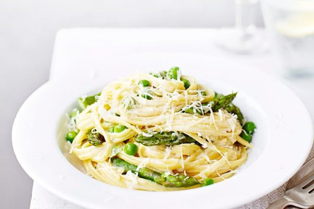 Vegetarian Spaghetti Carbonara Recipe