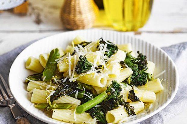 Roast Tenderstem® Broccoli and Lemon Pasta Recipe