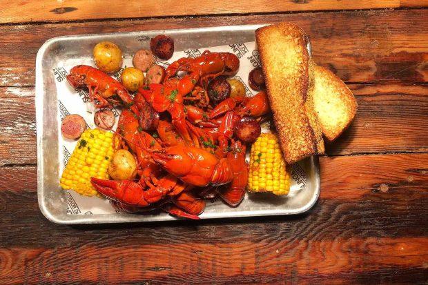 Bayou Bar Crawfish Boil