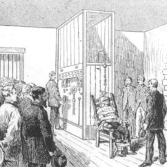 Electric Chair Was Invented By Small Bathroom Chairs Who The Historyrevealed Com