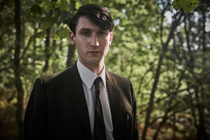 Lewis Peek as George Fancy in Endeavour series five) ITV, HF)