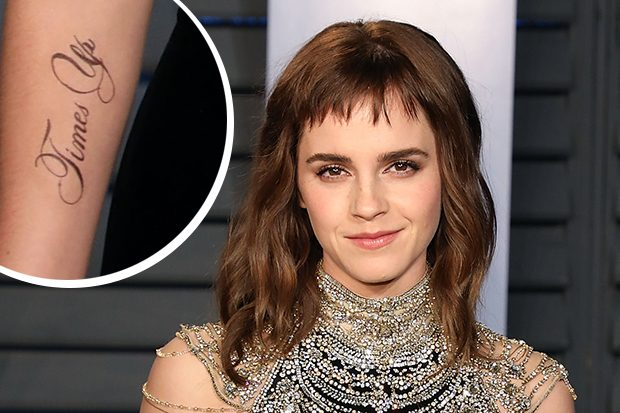 Emma Watson Needs A Tattoo Proofreader After Misspelt
