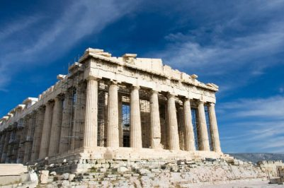 A look at the Parthenon in Greece