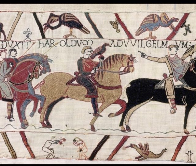 The 93 Penises Of The Bayeux Tapestry What Do They Tell Us History Extra
