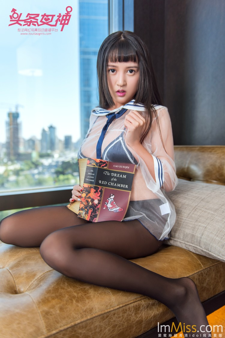 [TouTiao头条女神] 2017.12.12 大晗瑰丽学生黑丝 [25+1P]