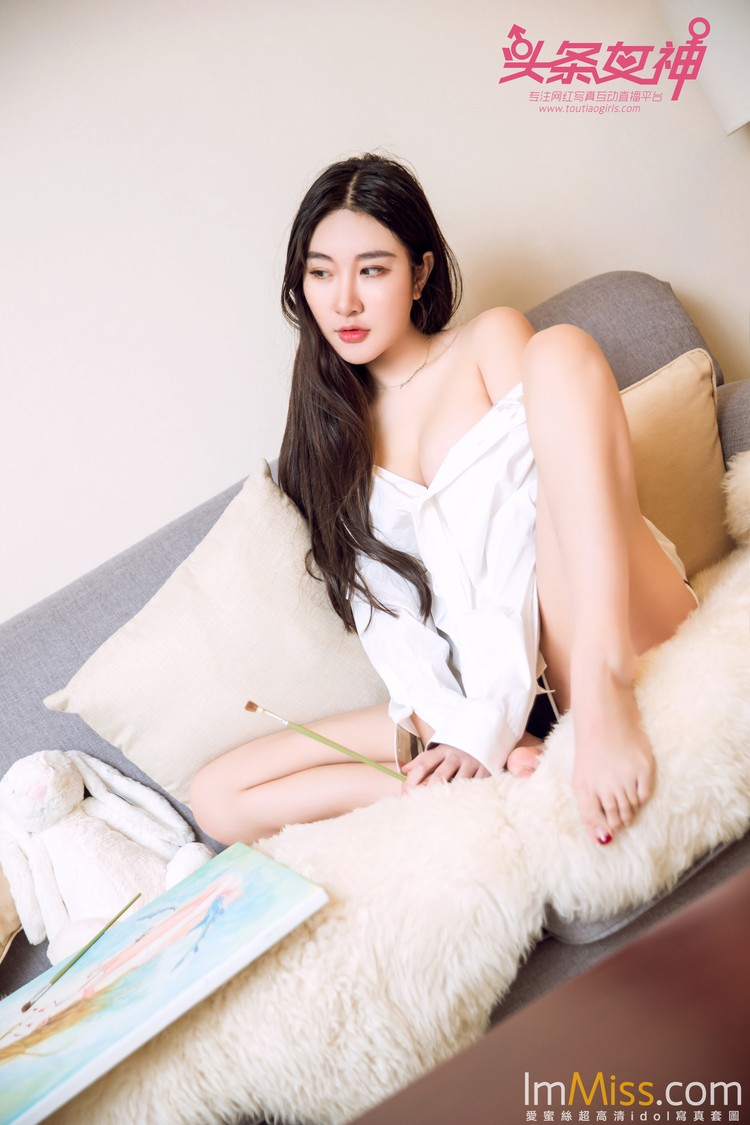 [TouTiao头条女神] 2017.11.29 七姑娘-画儿与少女 [16+1P]