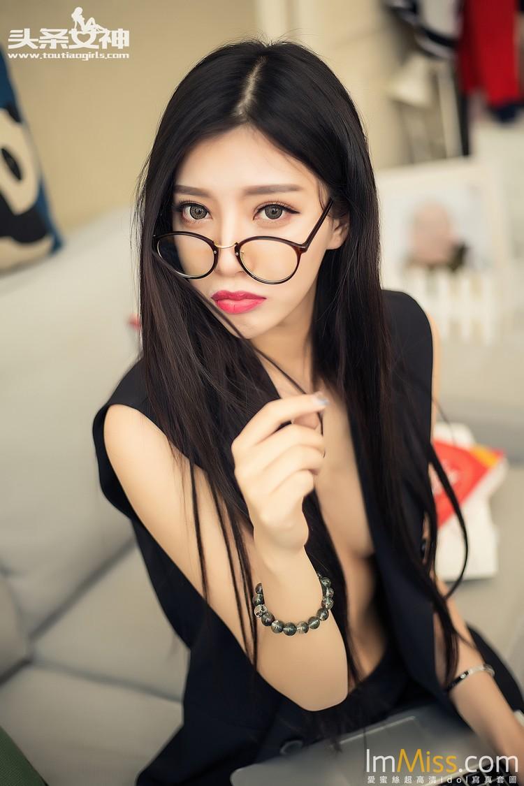 [TouTiao头条女神] 2016.06.21 黑丝眼镜-- COCO[66+1P]