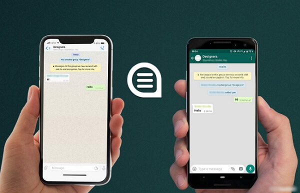2021 Guide - How to Transfer WhatsApp from iPhone to Android