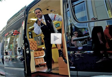Mobile Barber Shop On Wheels