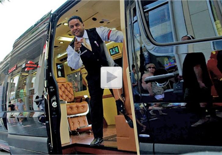 Mobile Barber Shop On Wheels
