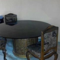 Revolving Chair In Vadodara Antique Gothic Chairs Glass Dining Table With 4 6 For Sale