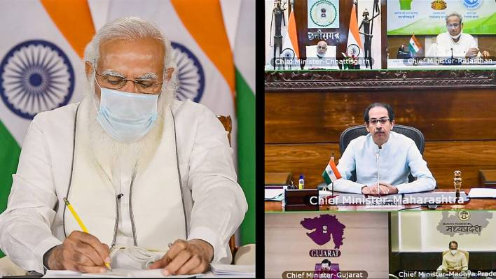 pm modi holds review meet with cms, says railway, air force deployed to reduce transportation time for oxygen tankers | coronavirus outbreak news,the indian express