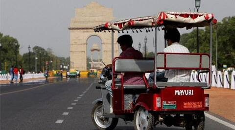 Image result for e rickshaw india