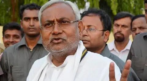 Former Railway Minister and JD(U) leader Nitish Kumar. (Source: PTI)