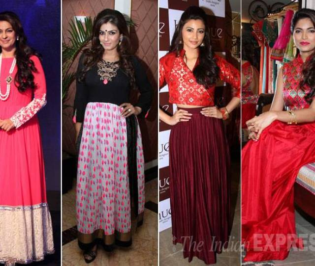Bollywood Actresses Juhi Chawla Raveena Tandon And Daisy Shah Looked Beautiful As They Attended Launches In The City
