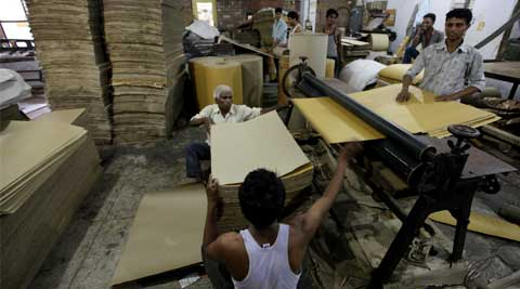 Industrial growth will be negative after many years, says an owner of paper mills. (Source: Express Photo by Ravi Kanojia)