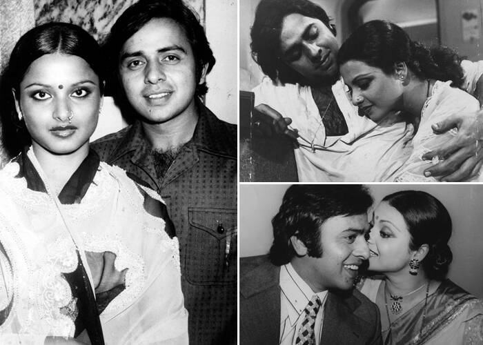 Image result for rekha young kissing