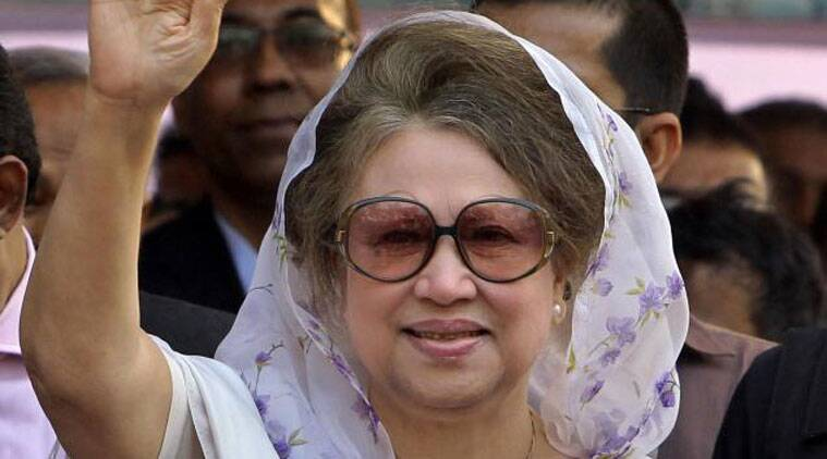 Bangladesh former PM Khaleda Zia. (Source: AP photo)