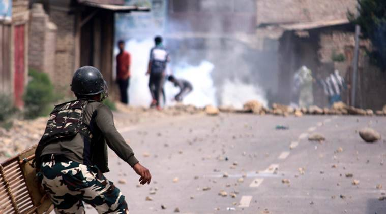Kashmir encounter: Two Hizbul militants killed in Pulwama; 6 civilians injured in clashes that followed