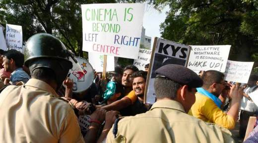 FTII, Film and Television Institute of India, FTII protest, FTII chairman protest, Gajendra Chauhan FTII, I&B Ministry FTII, FTII news, Dibakar Banerjee, Dibakar Banerjee FTII protest, india news, pune news, latest news, indian express, indian express column