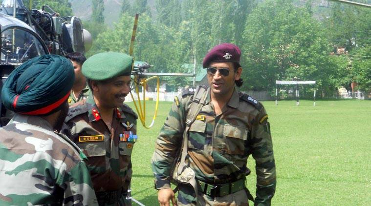 MS Dhoni to serve in Kashmir, to perform patrolling and guard duty