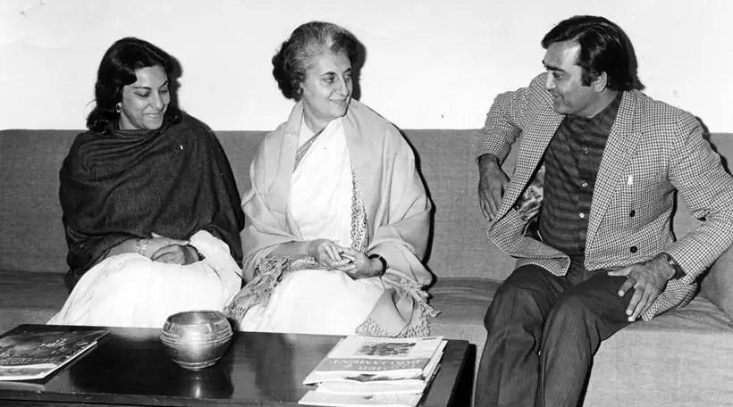 Image result for indira gandhi nargis dutt