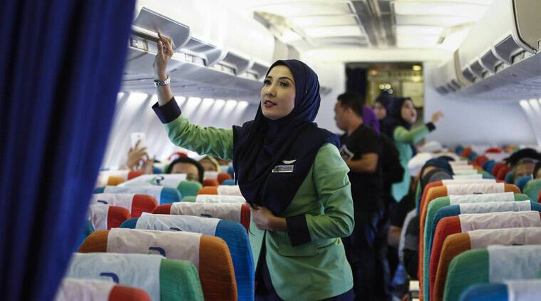Malaysias new Islamic airline Rayani Air takes off with a