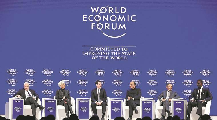 finance minister, RBI governor, world economic forum, WEF, davos, NDTC davos debate