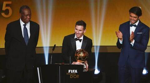 Lionel Messi Wins Fifa Ballon D Or For Fifth Time Sports