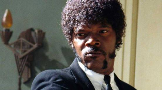 Image result for pulp ficTION SAMUEL L JACKSON