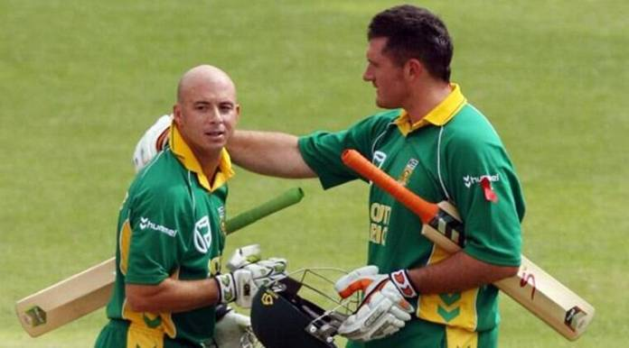 Image result for herschelle gibbs graeme smith