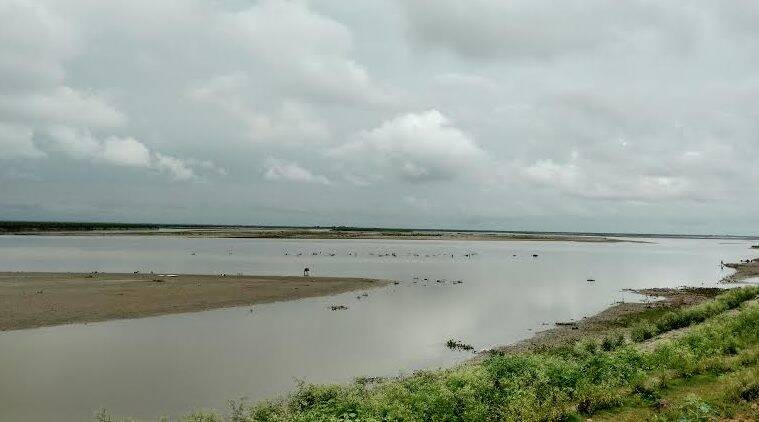 A view of the mighty Brahmaputra river, that floods every year in the state (Photo by Vishnu Varma)